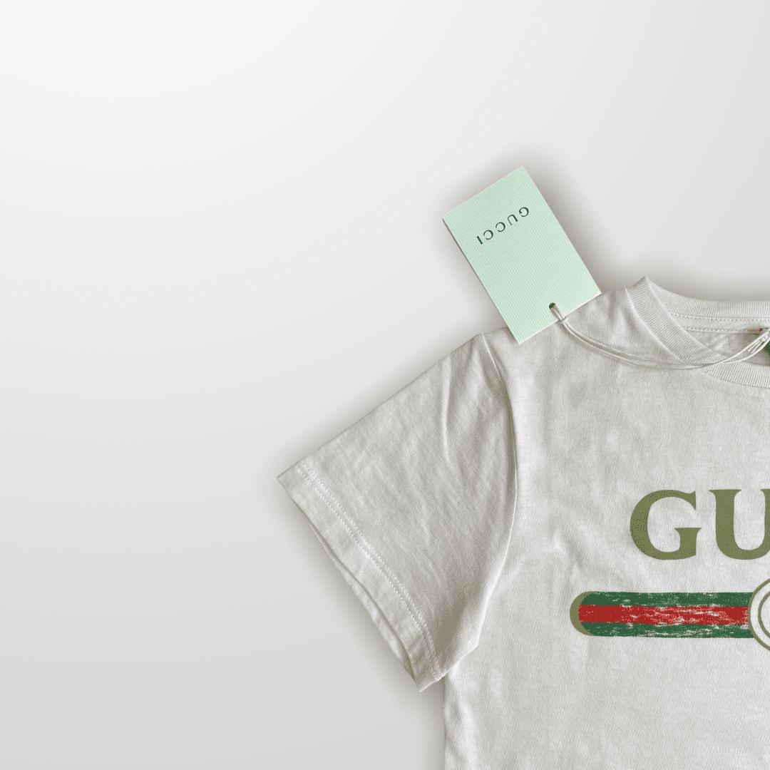 Camiseta Rosa Gucci 8 Anos