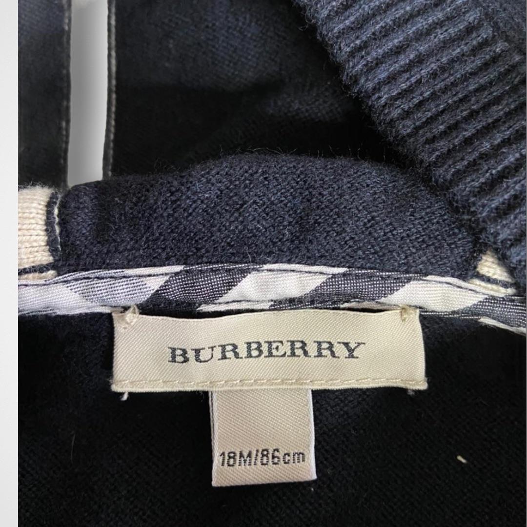 Cardigan Burberry - 18 Meses