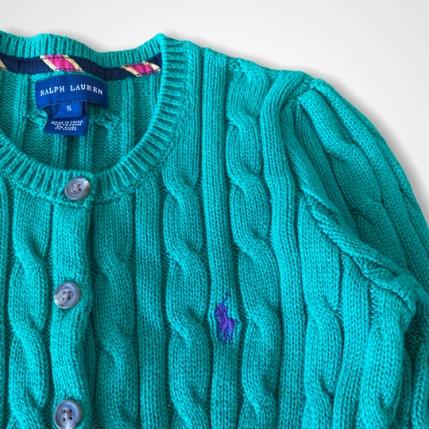 Cardigan Ralph Lauren - 5 Anos