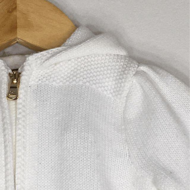 Cardigan Tricot Branco Ralph Lauren
