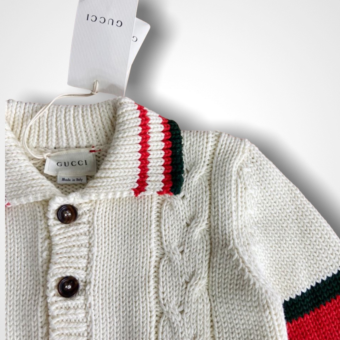 Cardigan Tricot Gucci - 3 Anos