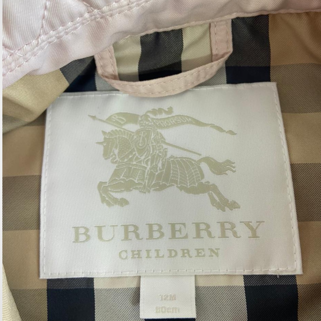 Casaco Burberry - 12 Meses
