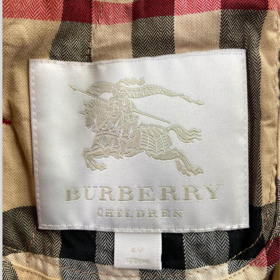 Casaco Burberry 6 anos