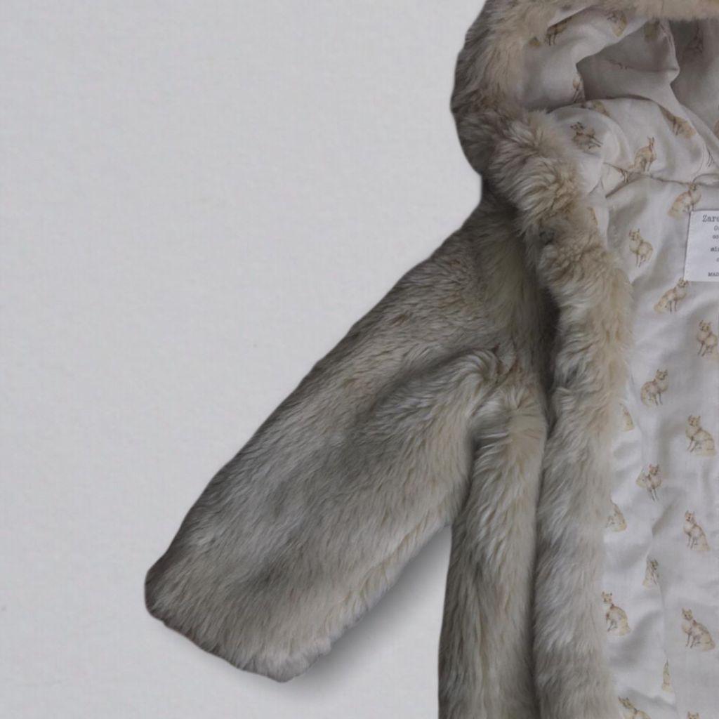 Casaco de Pele Zara