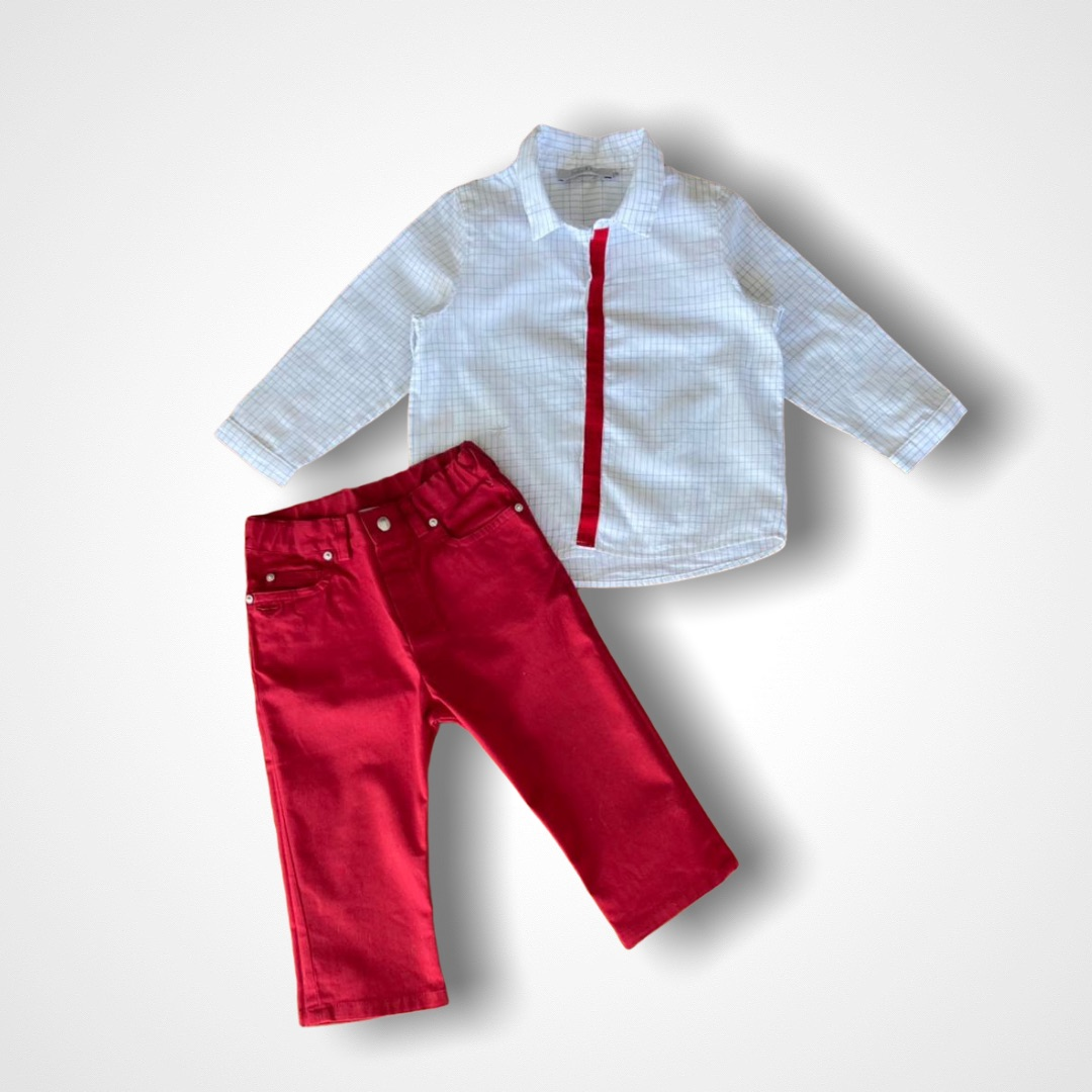 Conjunto Baby Dior - 12 Meses