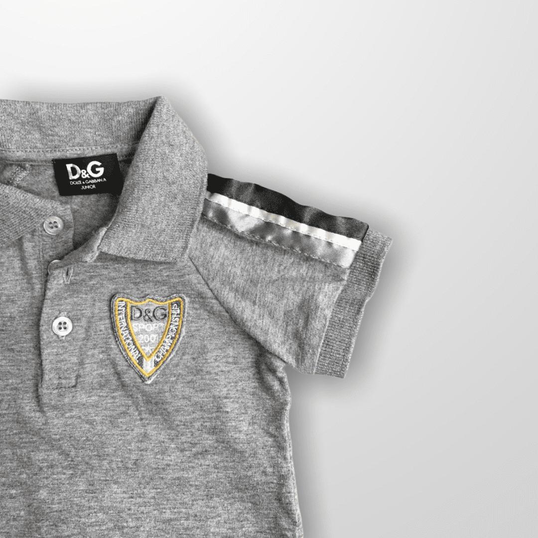 Conjunto Polo e Calça Grey Dolce & Gabbana