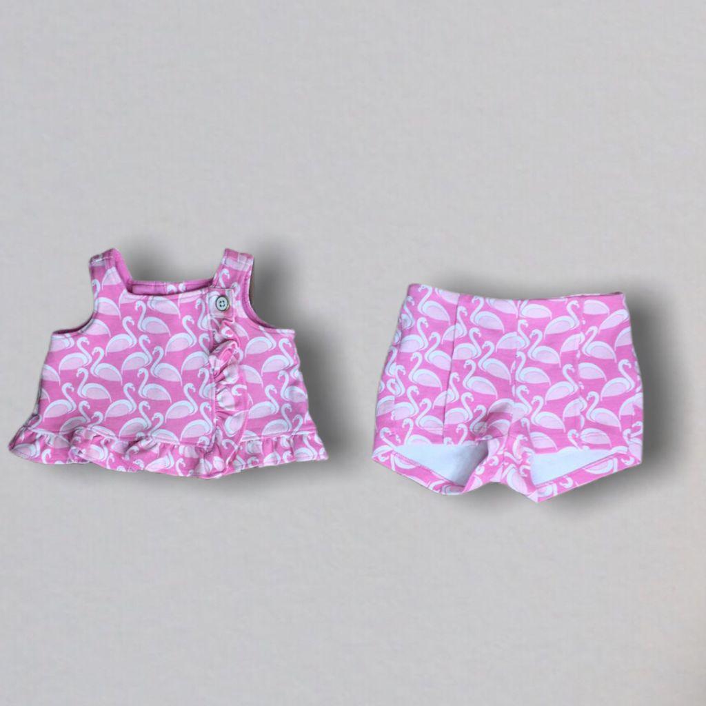 Conjunto Shorts Flamingos Janie And Jack