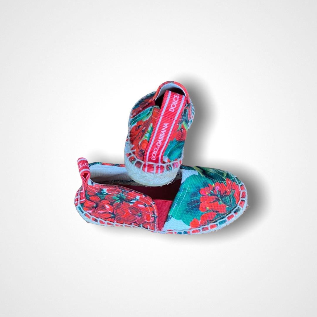 Espadrille Floral Dolce & Gabbana - 26EUR/ 24BR