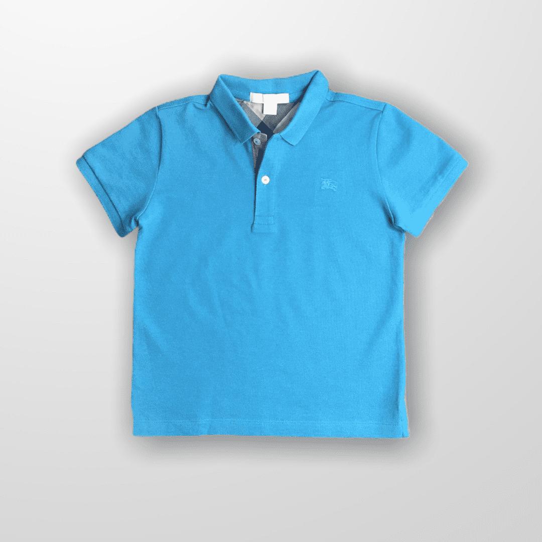 Polo Azul Burberry 6T