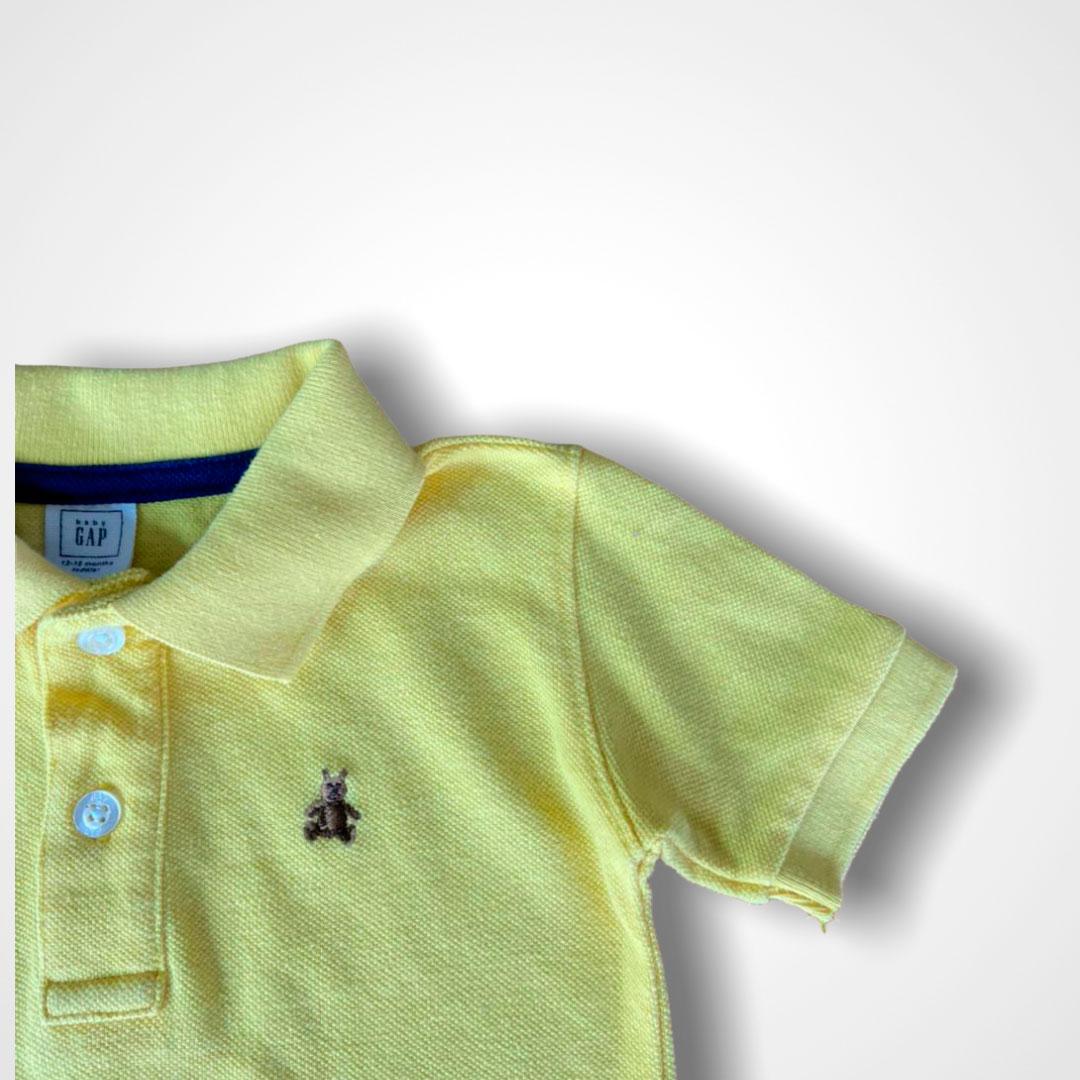 Polo Baby GAP 12/18 meses Amarela