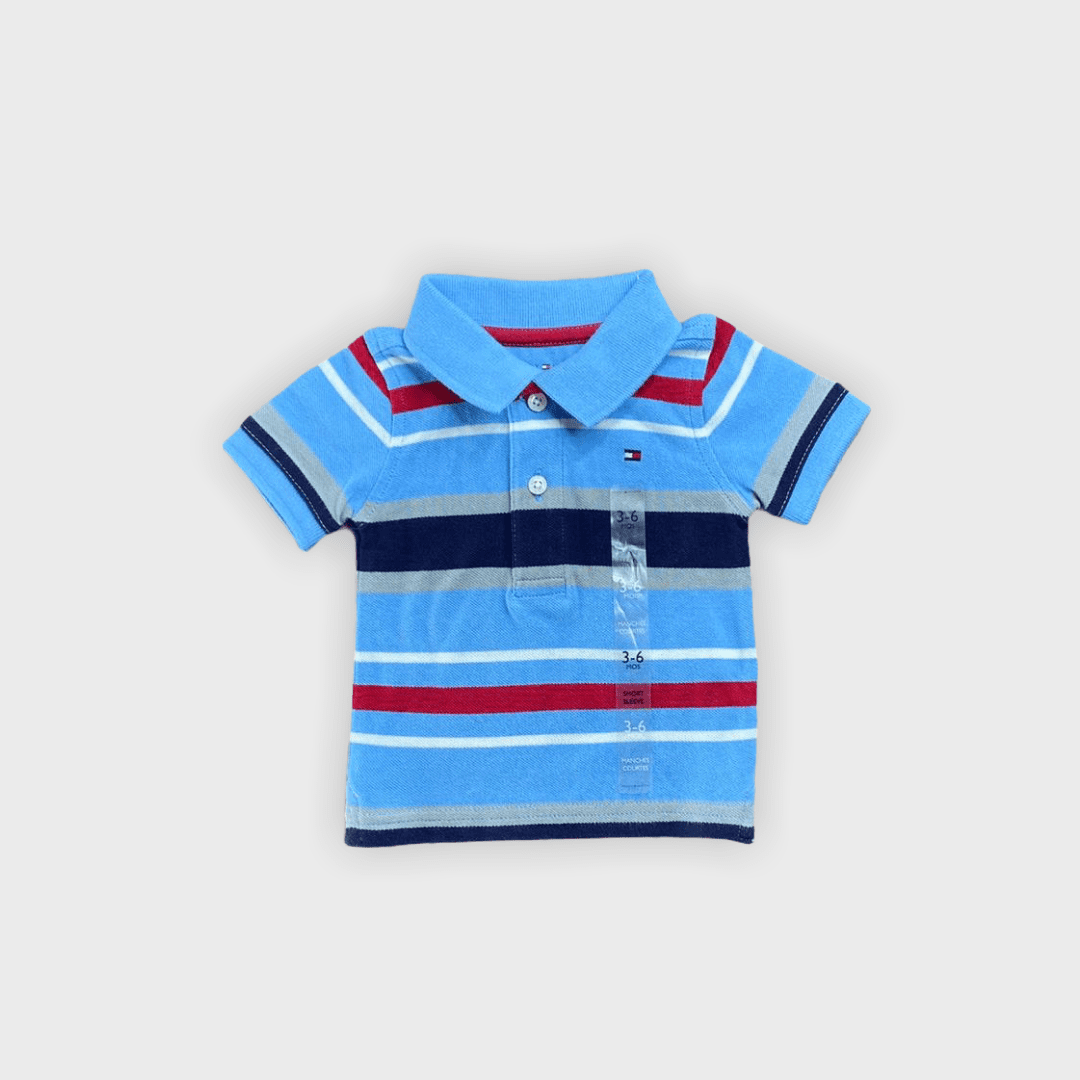 Polo Tommy Hilfiger 3/6meses
