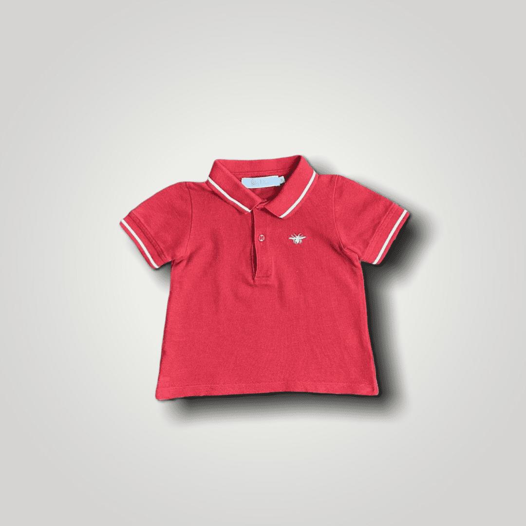 Polo Vermelha Baby Dior 9 Meses