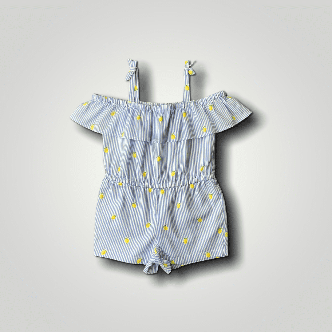Romper Floral Limões Janie and Jack 2 Anos
