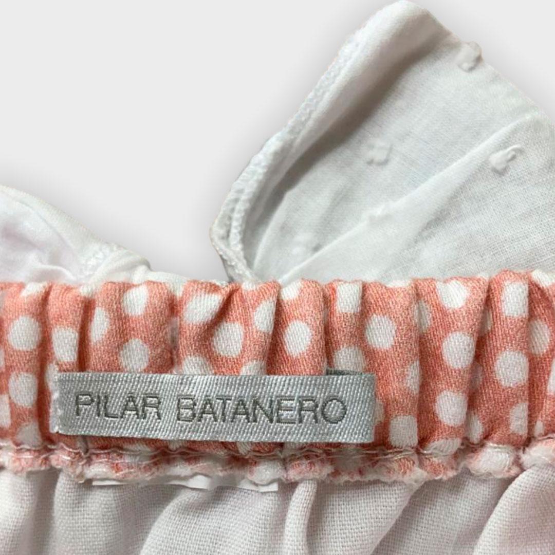 Romper Pilar Batanero (Espanha) 0/3meses