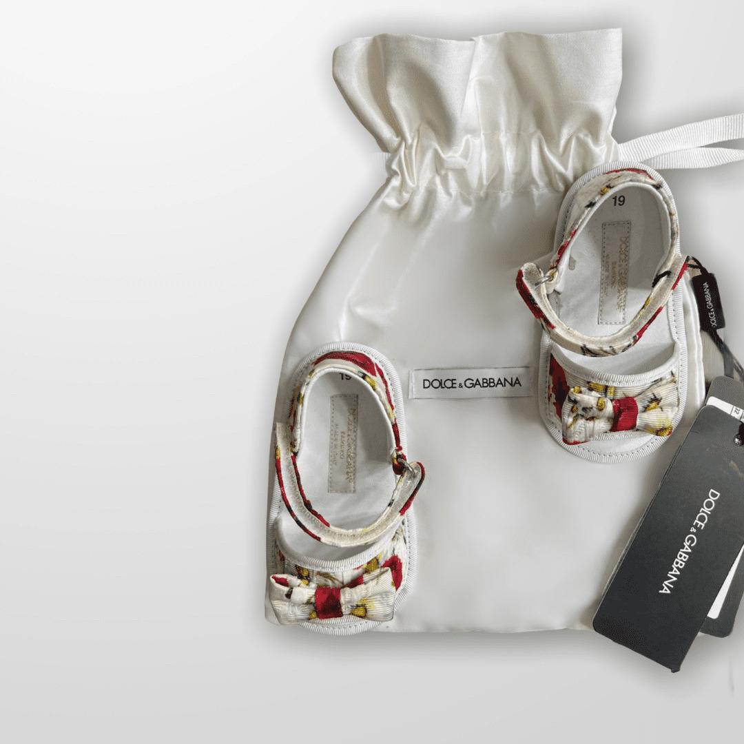Sandália Floral Dolce & Gabbana 18 - Nova