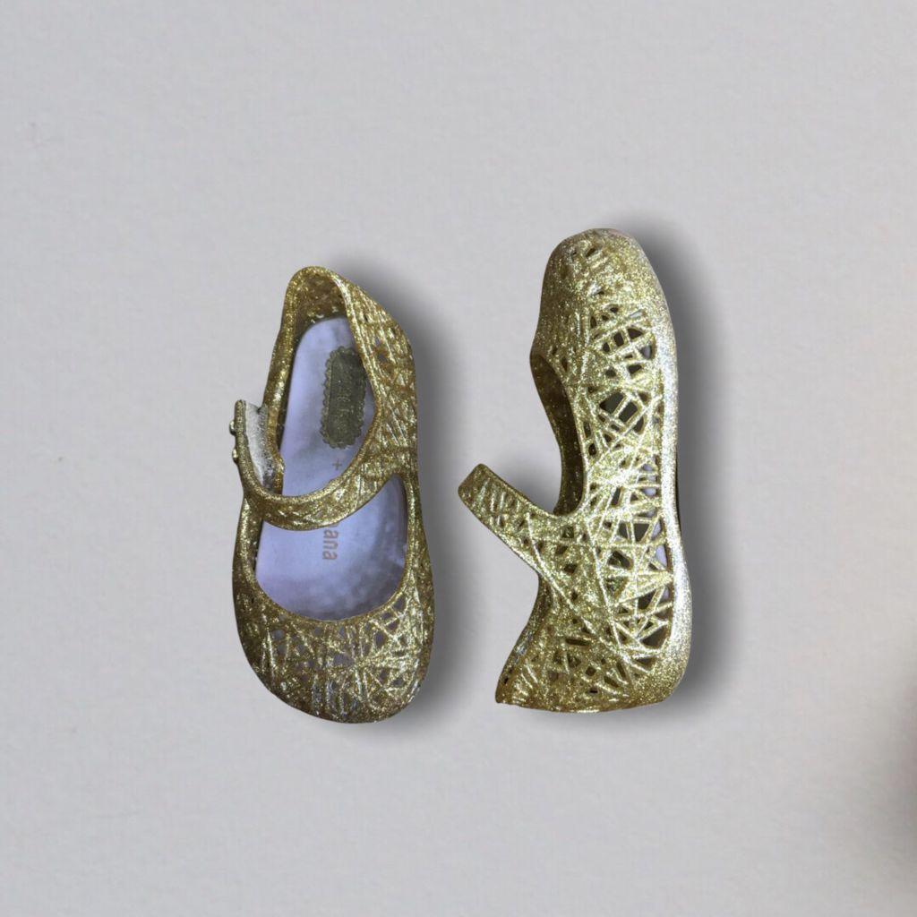 Sandália Melissa - Dourada