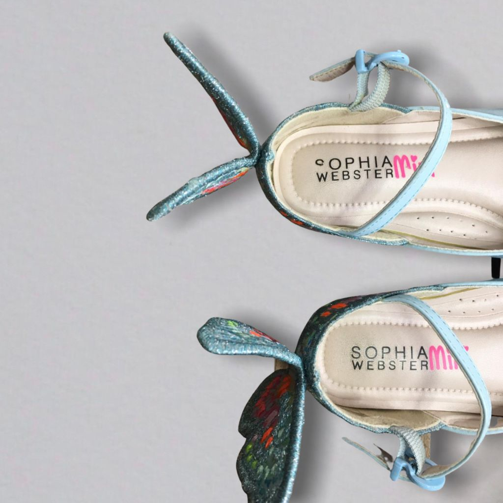 Sapatilha Chiara Azul Sophia Webster Mini