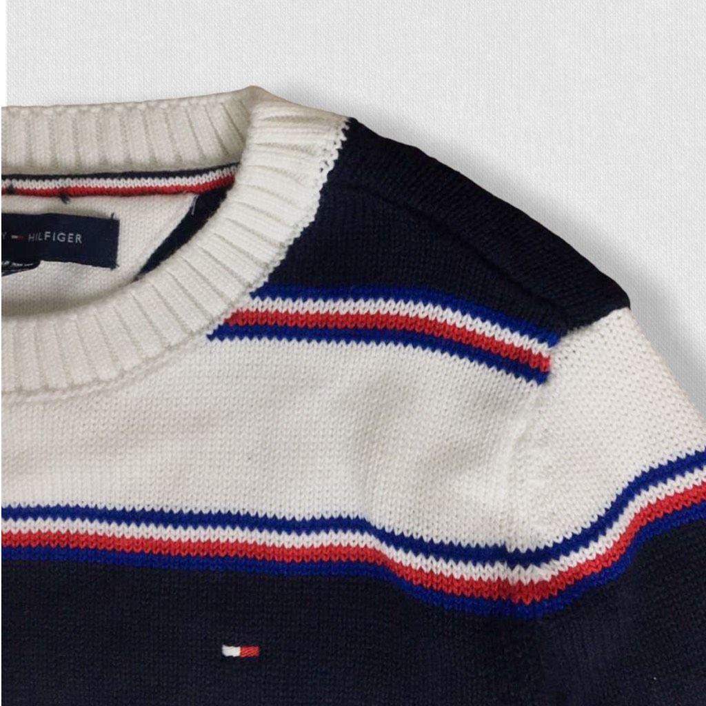 Suéter Listrado Novo Tommy Hilfiger