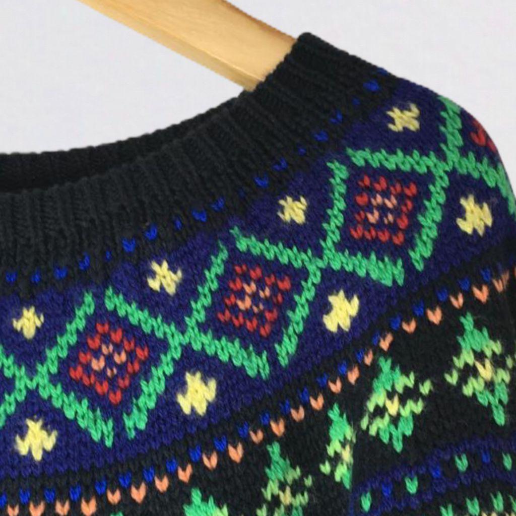 Suéter Tricot Bordado Ralph Lauren