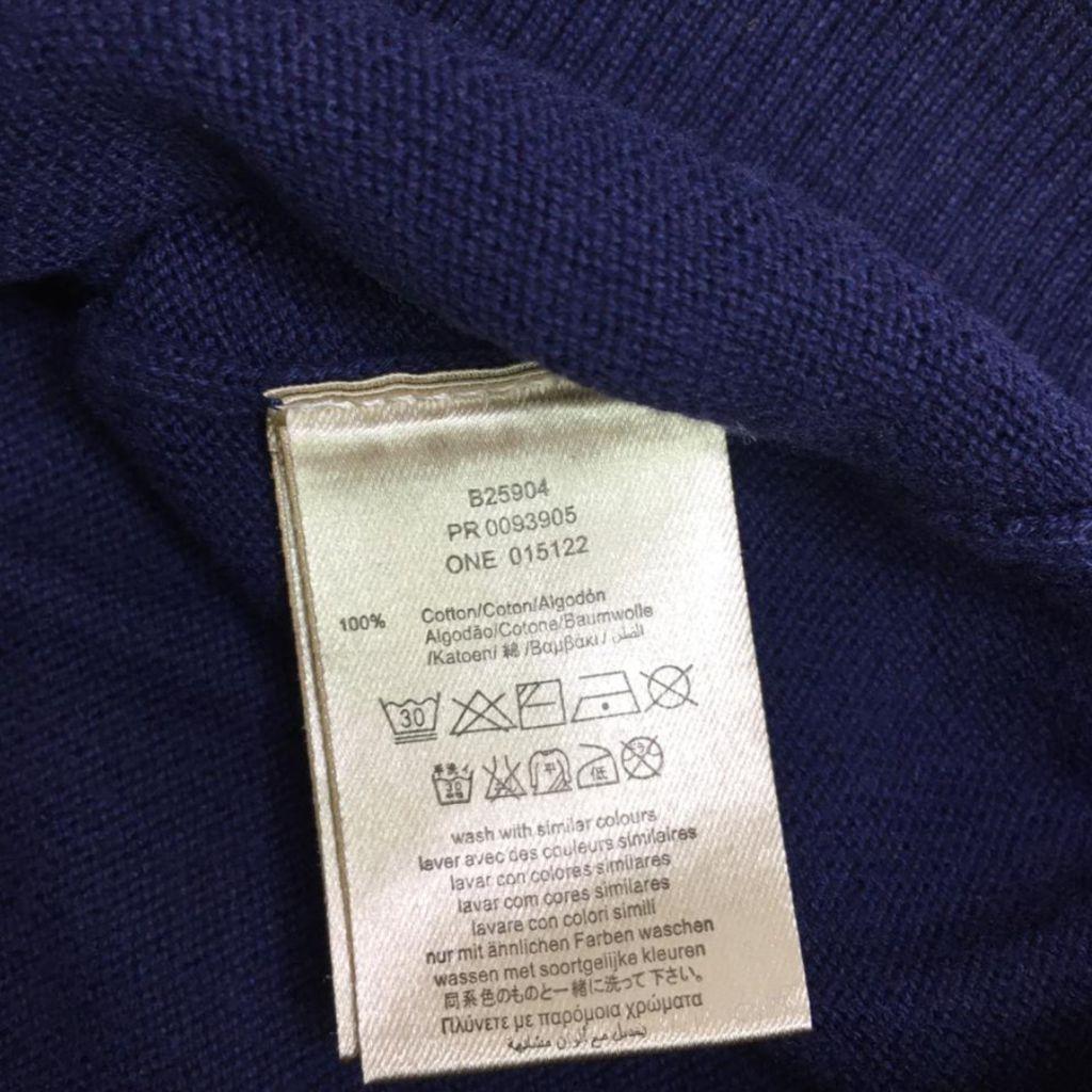 Suéter Tricot Marinho Burberry