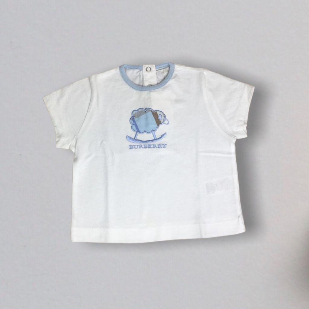 T-shirt Branca Carneiro Burberry