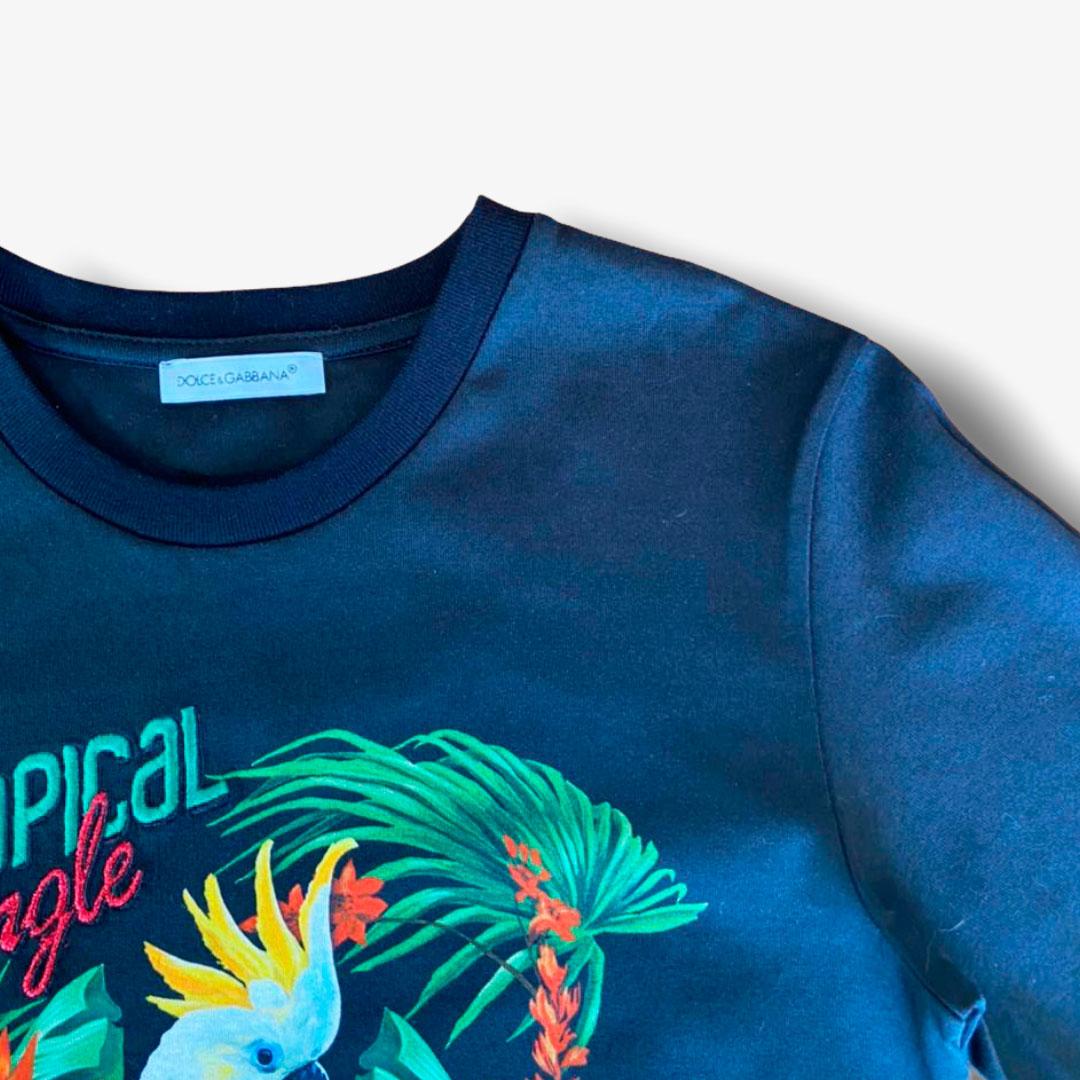 T-Shirt Feminina Dolce&Gabbana 6 anos