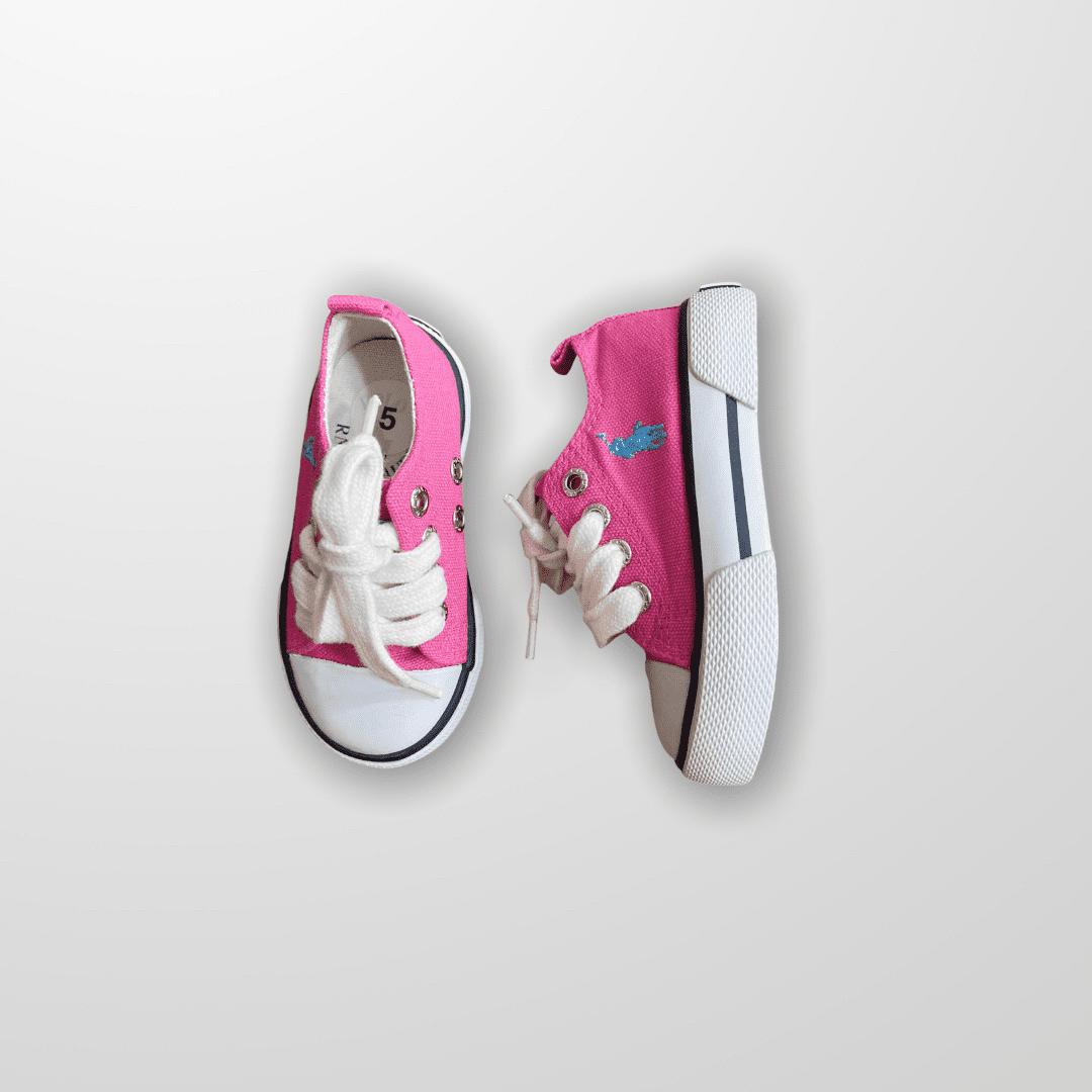Tênis Pink Fluor Ralph Lauren 20