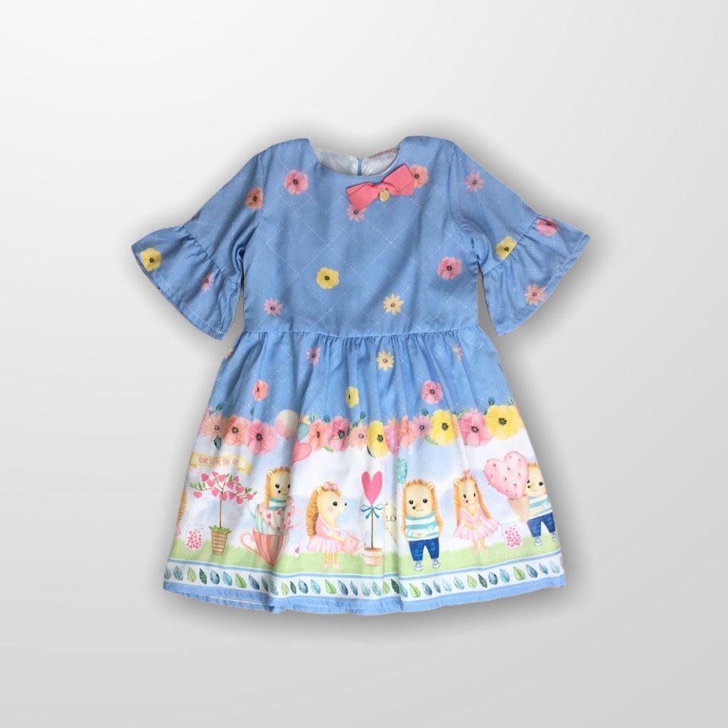 Vestido Azul Mon Sucré