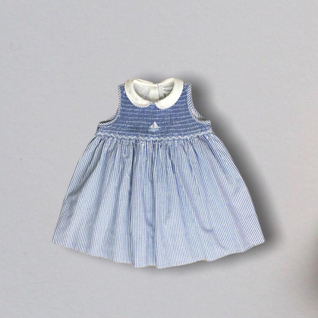 Vestido Casinha de Abelha Listrado Ralph Lauren