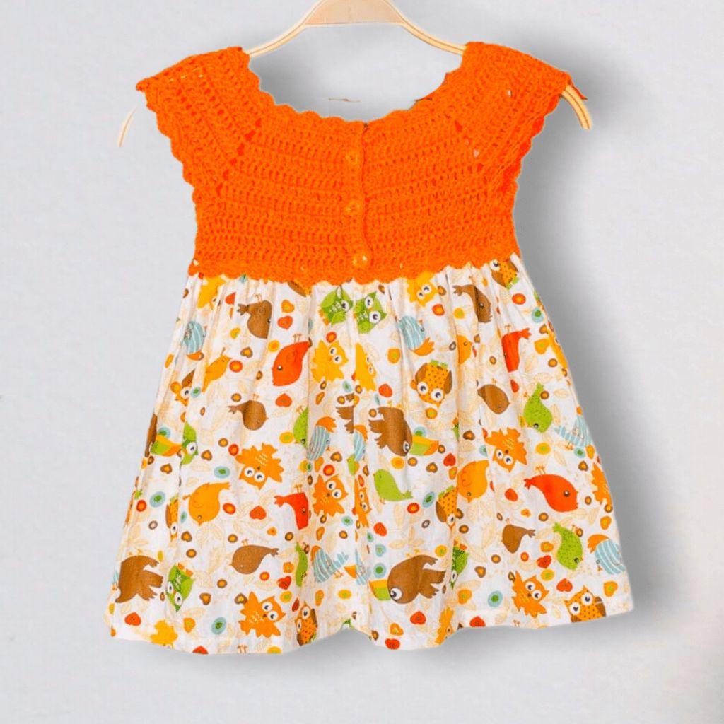 Vestido Croche Peixinhos