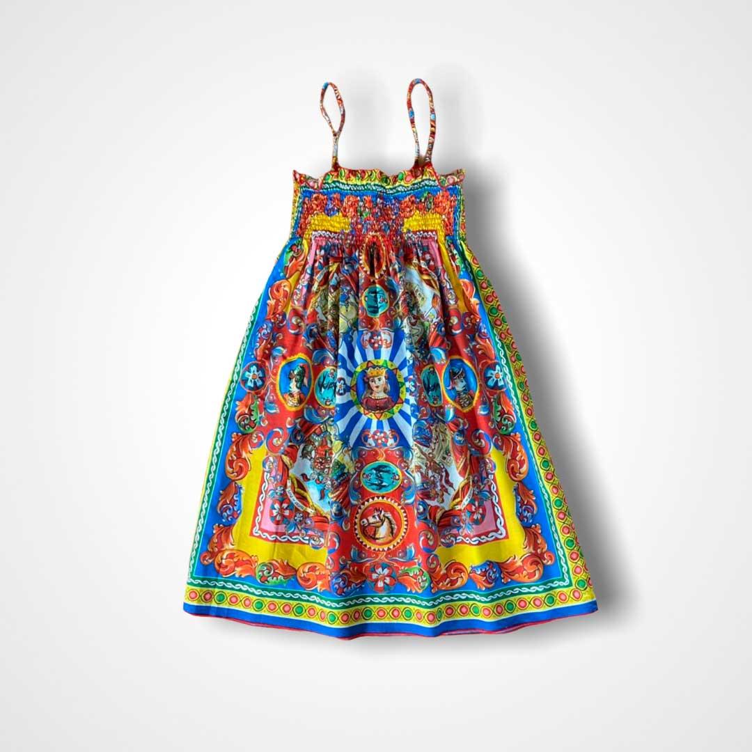 Vestido Dolce&Gabbana 12 anos (veste 10)