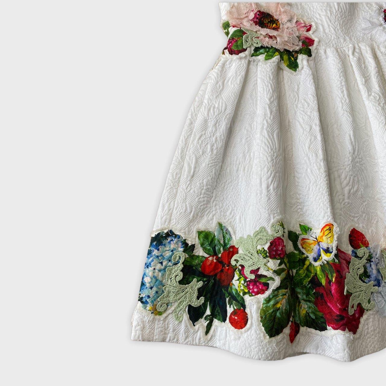 Vestido Dolce & Gabbana 6 anos