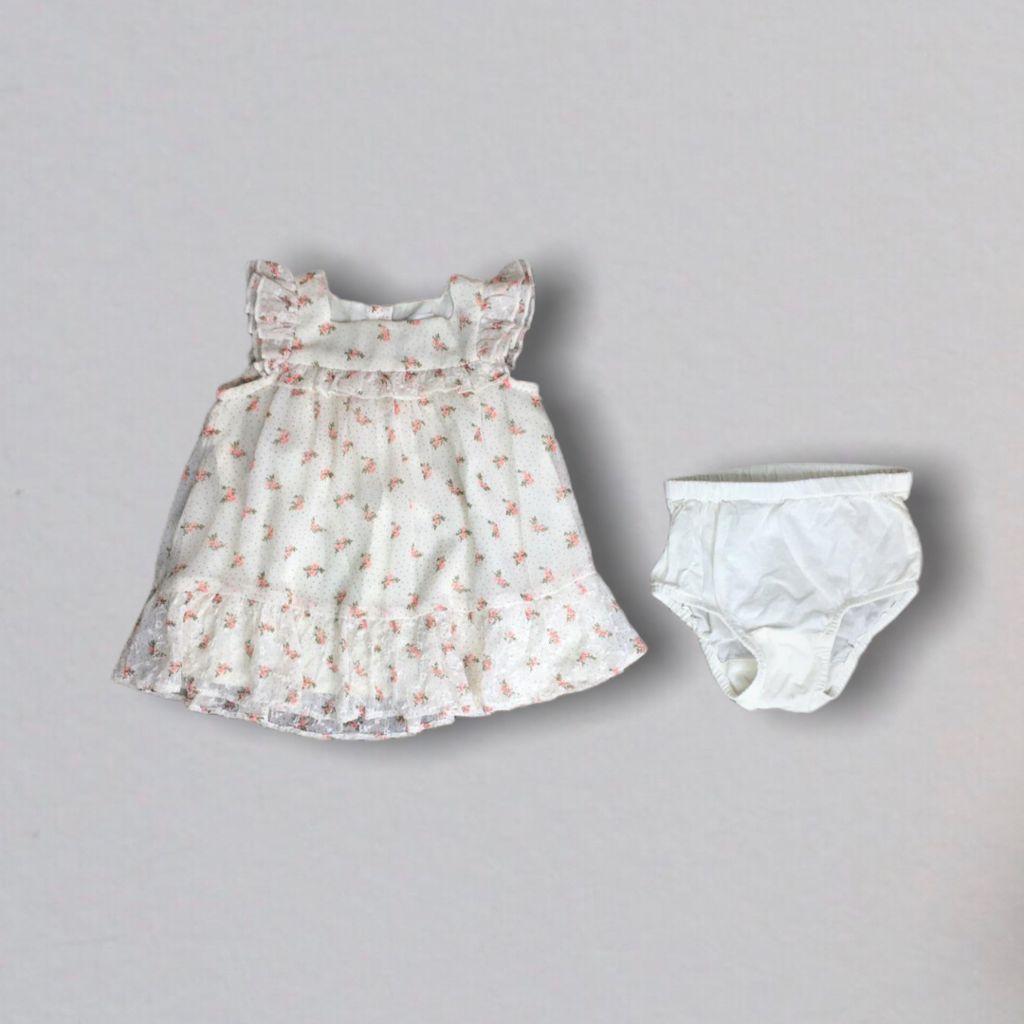 Vestido Floral Baby Gap