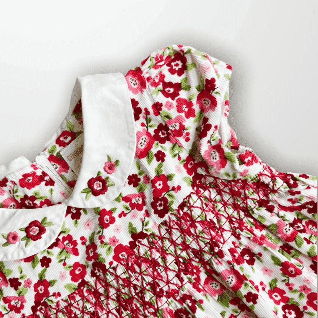 Vestido Floral Casinha de Abelha Gymboree 2 Anos