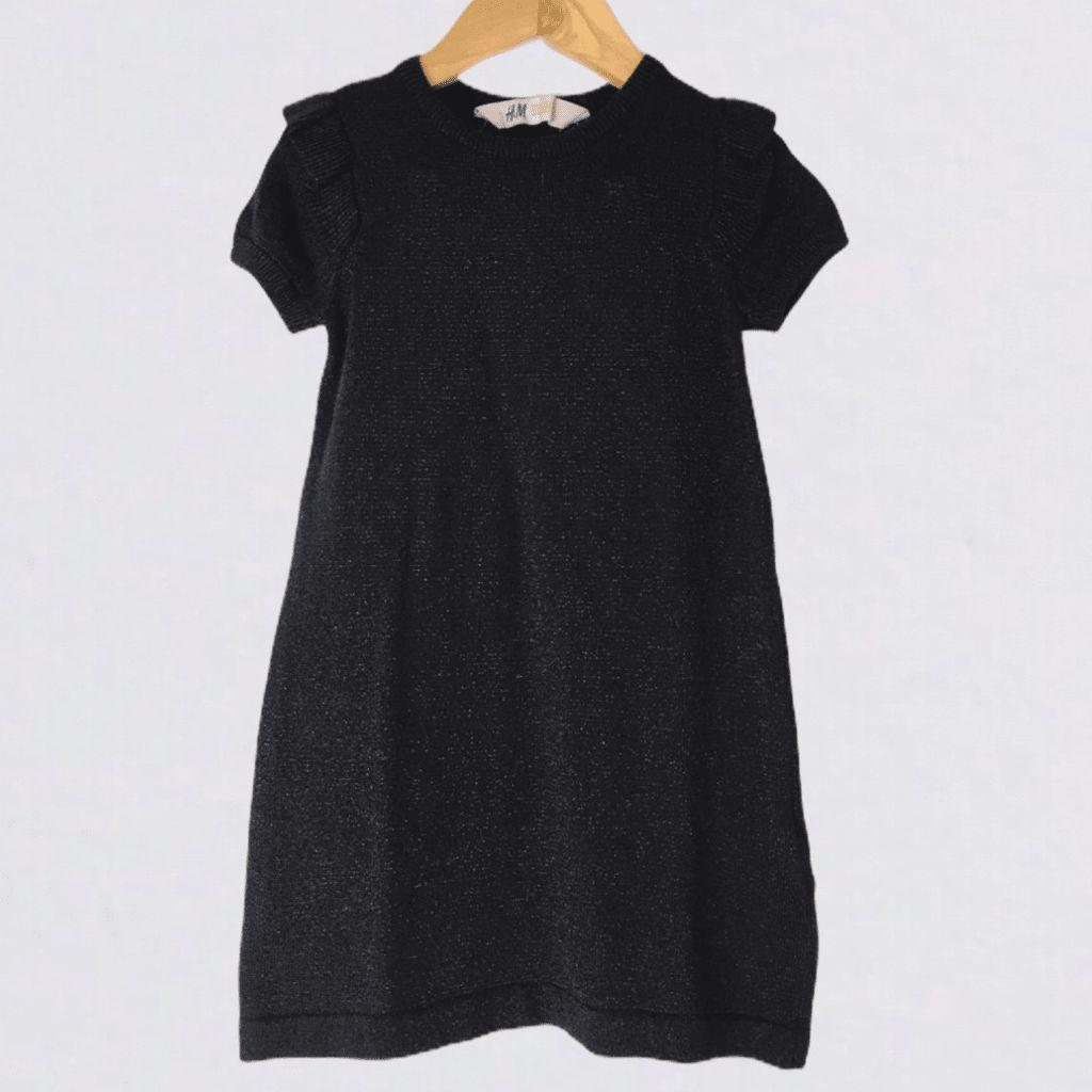 Vestido Linha Preto H&M