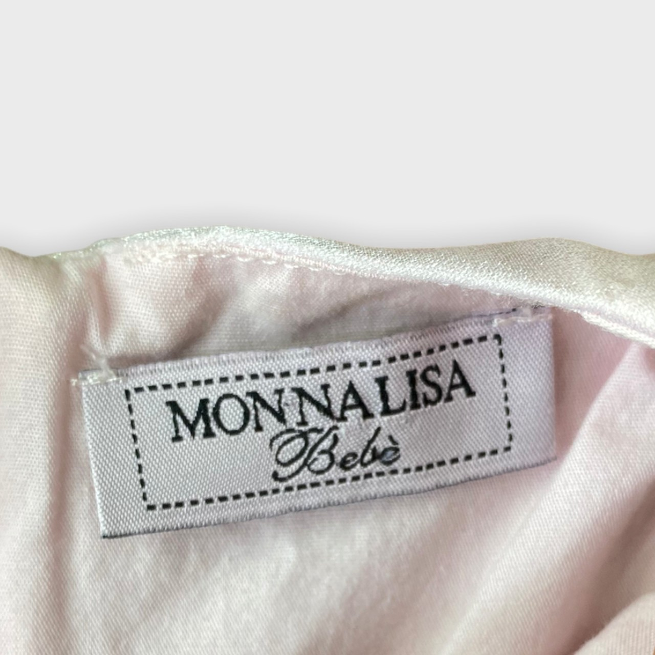 Vestido Monnalisa 6 meses