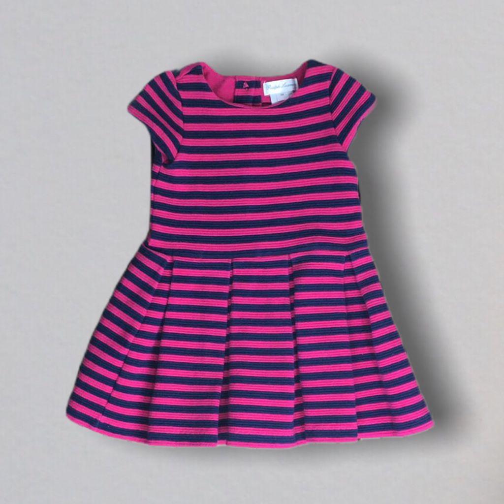 Vestido Pink Listrado Ralph Lauren