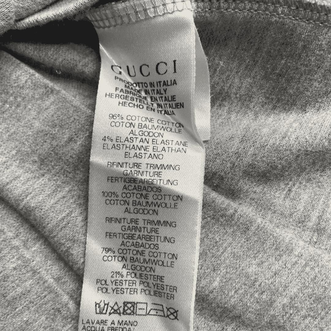 Vestido Polo Cinza Gucci 5 Anos