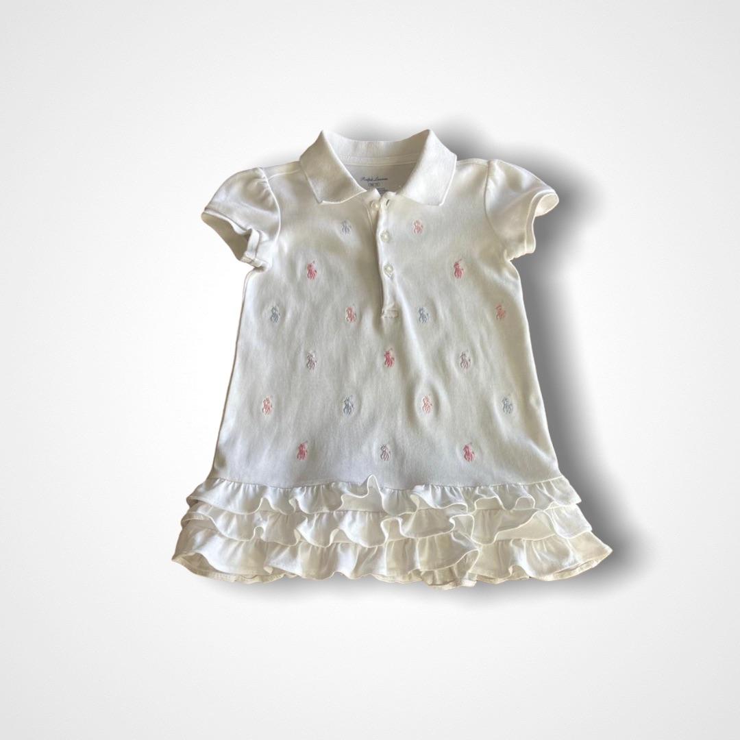 Vestido Polo Ralph Lauren - 9 Meses