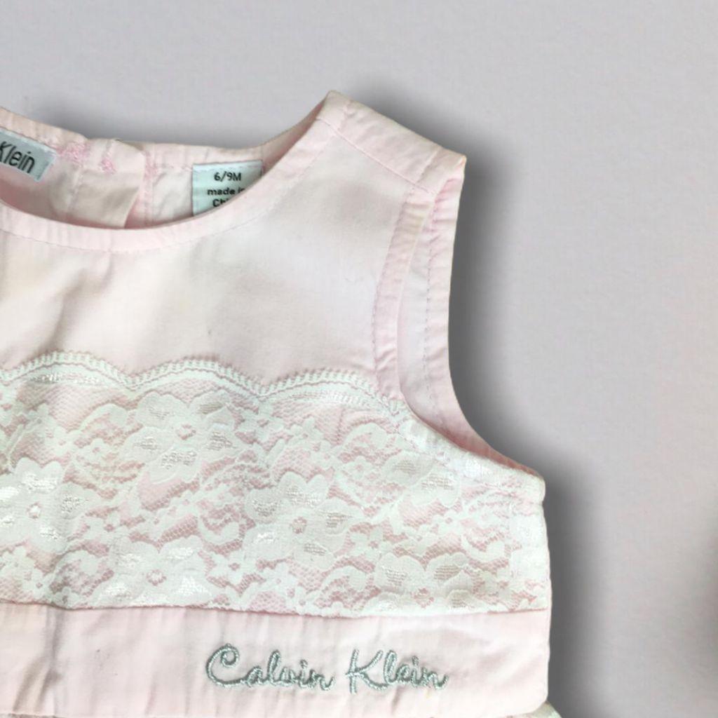 Vestido Rosa Calvin Klein