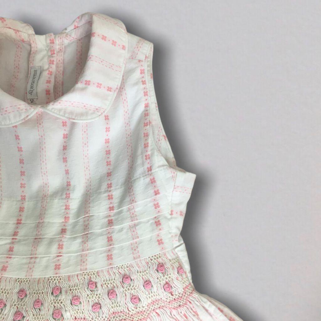 Vestido Rosa Casinha de Abelha Beija Flor