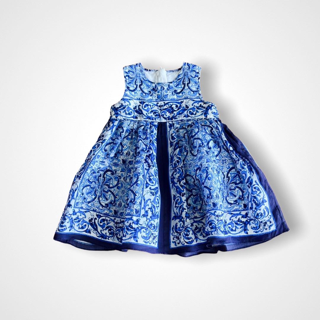Vestido Seda Dolce & Gabbana - 18/24 Meses