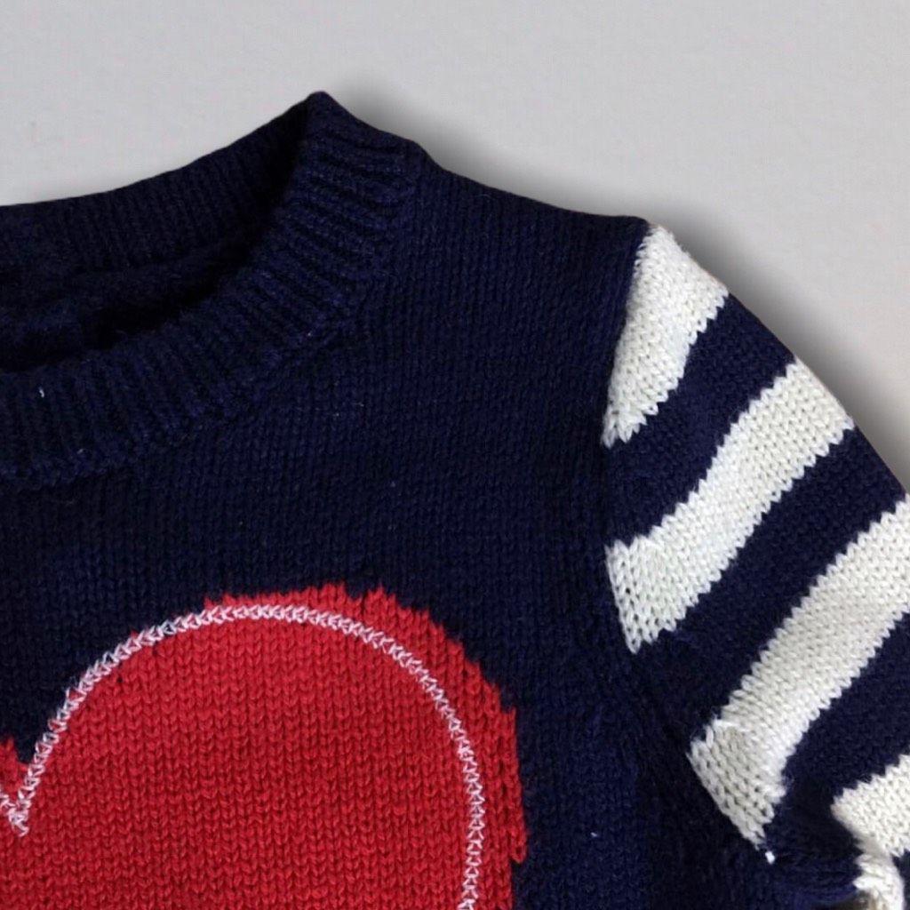 Vestido Tricot Heart Gap