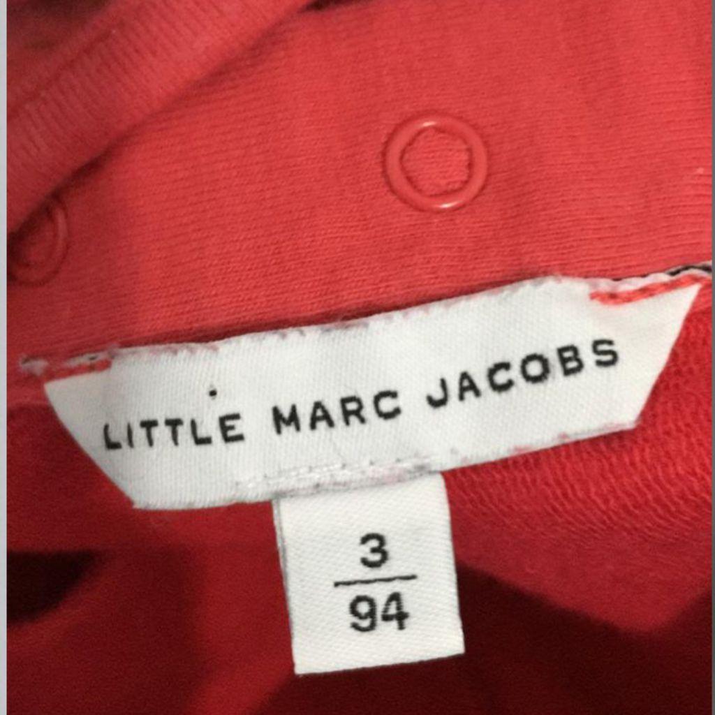 Vestido Vermelho Little Marc Jacobs