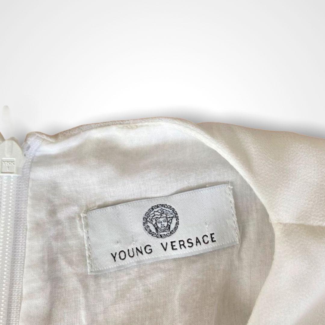 Vestido Versace Branco 4 anos