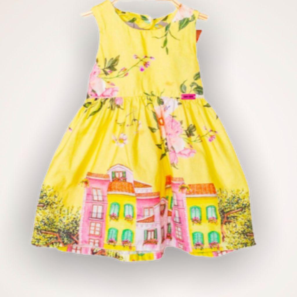 Vestido Yellow Camu Camu