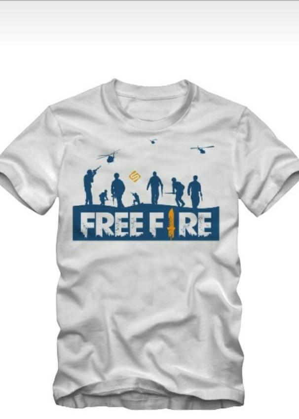 T Shirt Free Fire D Sucesso