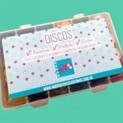 Caixa Organizadora M com Discos ou Sem de Caderno Infinito Sistema Inteligente