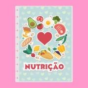 Capa de caderno de disco infinito em polaseal - Sistema inteligente - Profissões - Nutrição