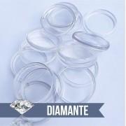 Disco de Caderno Translúcido Diamante Liso Amor Infinito